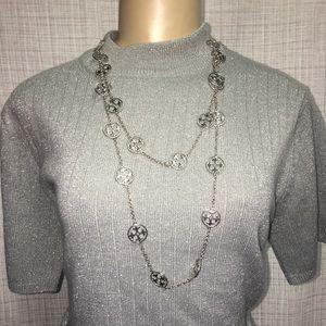 Tory Burch Cross Necklace